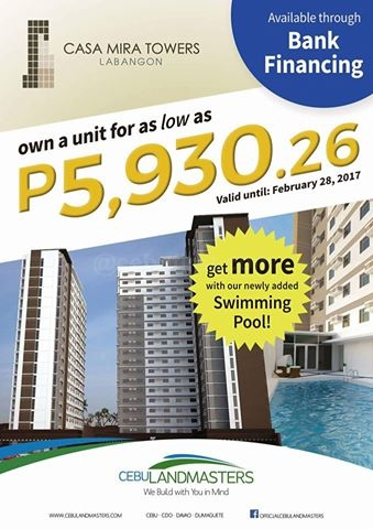 Condo in Cebu – Casa Mira Towers