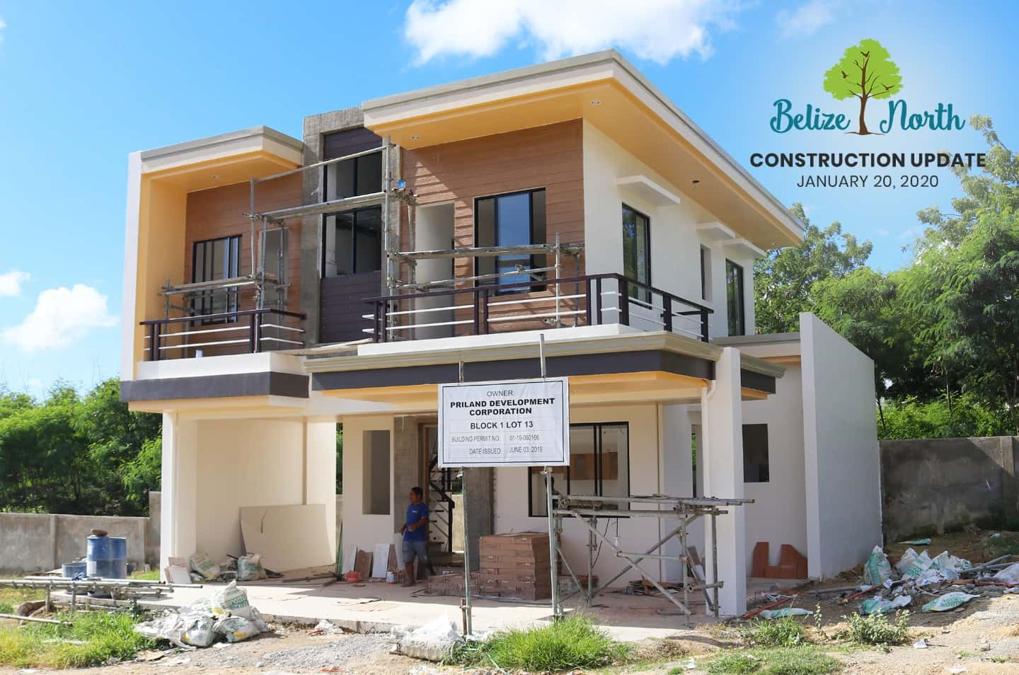 Belize North Construction update as of June 2020