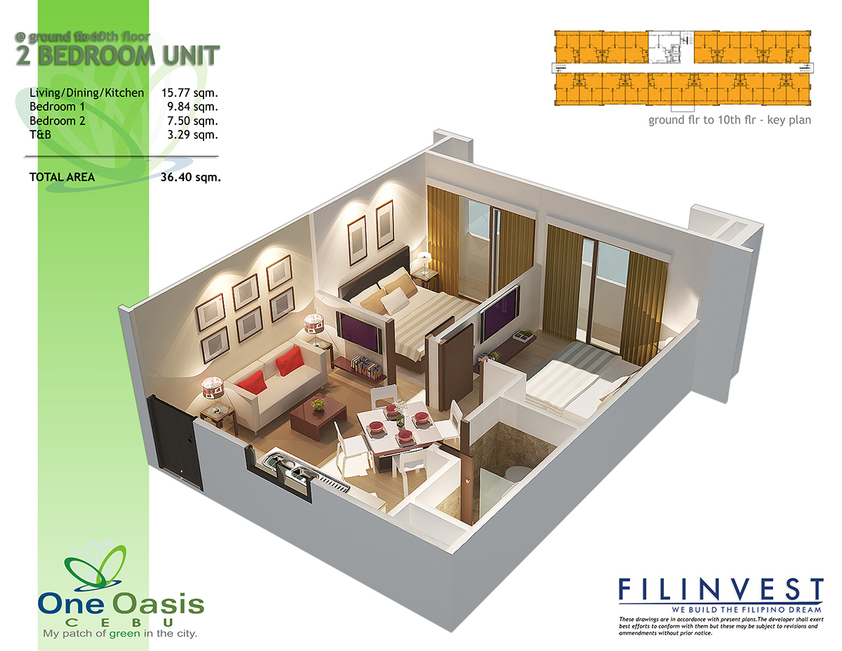 One Oasis Condo in Cebu City | Ready to move in units