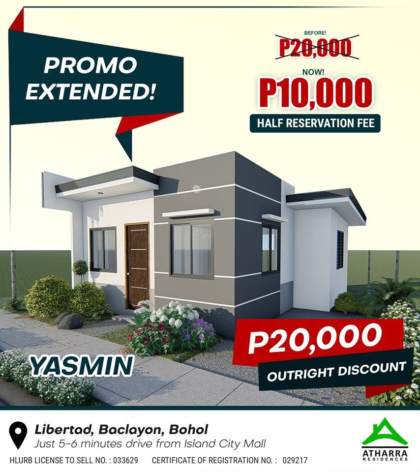 House and lot in Bohol | Atharra Residences